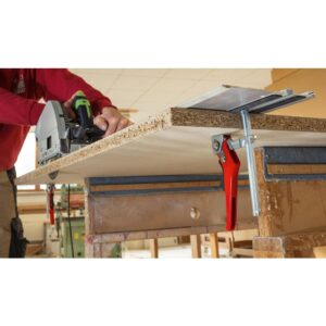 BESSEY 4-11/16 in. Capacity, 2-5/16 in. Throat Depth 540 lbs. Clamping Force Ratchet Action Lever Clamp