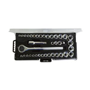Best Value 1/4 and 3/8 in. Socket Set (40-Piece)