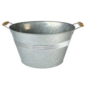 Artland 20 Gal. Galvanized Party Tub with Handles