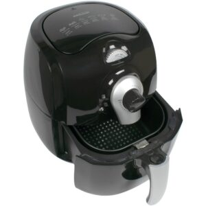 Brentwood 3.7 Qt. Black Air Fryer With Timer and Temperature Control