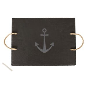Cathy's Concepts Anchor Slate Serving Tray