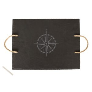 Cathy's Concepts Compass Slate Serving Tray