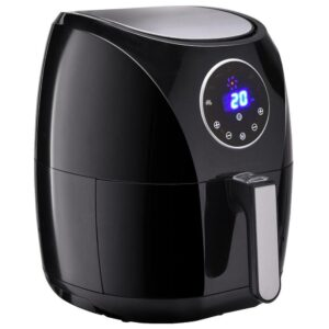 Costway 1400-Watt Electric Air Fryer 3.4 Qt. LCD Touch Screen Timer and Temperature Control