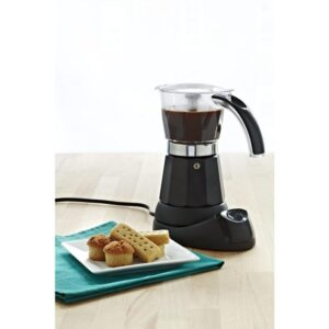 IMUSA 3-Cup/6-Cup Electric Coffee Maker in Black