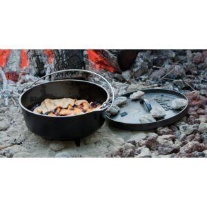 Lodge 4 Qt. Cast Iron Dutch Oven With Lid and Bail Handle