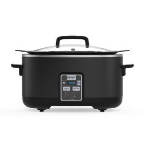 NINJA 6 Qt. Black Slow Cooker with Touchpad Controls and Keep Warm Setting