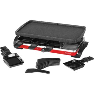 Starfrit Black Raclette/Party Indoor Grill Set