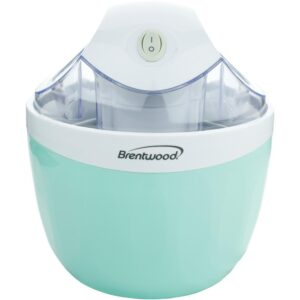 Brentwood 1 Qt. Blue Ice Cream and Sorbet Maker