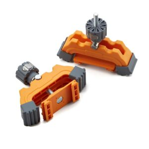 BORA Glass Filled Nylon Track Clamp Set for WTX or NGX Saw Clamp Edges (2-Piece)