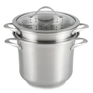 Calphalon Contemporary 8 qt. Stainless Steel Multi-Pot with Glass Lid