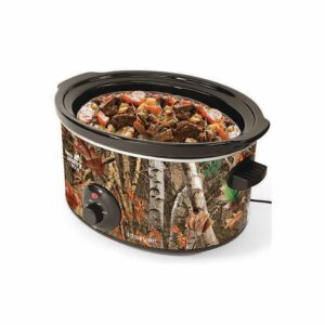 Nesco Open Country 8 Qt. Camoflauge Slow Cooker with Temperature Settings