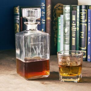 Cathy's Concepts Personalized Glass Decanter - W