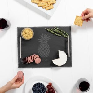 Cathy's Concepts Slate Serving Board Personalized Pineapple
