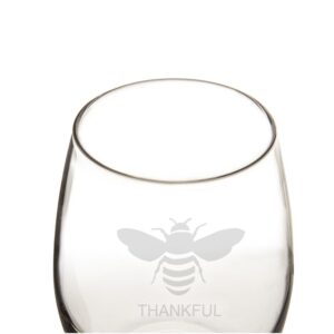 Cathy's Concepts 21 oz. Stemless Wine Glasses
