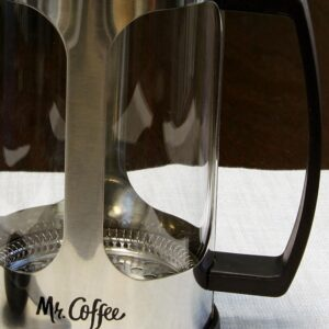 Mr. Coffee Daily Brew 4-Cups Stainless Steel Coffee Press
