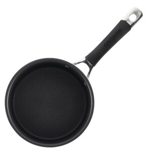 Circulon Momentum 2 qt. Stainless Steel Nonstick Sauce Pan with Glass Lid