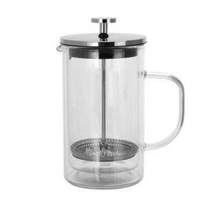 Mr. Coffee Hyland 2.5-Cup Clear Glass French Press Coffee Maker