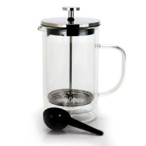 Mr. Coffee Hyland 20 oz French Press Coffee Maker with Scoop