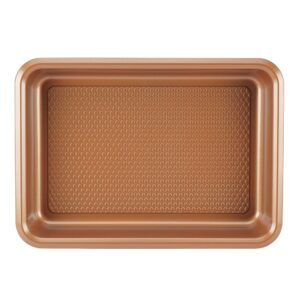 Ayesha Curry 9 in. x 13 in. Copper Bakeware Covered Cake Pan
