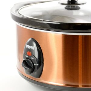 Better Chef 3.6 Qt. Copper Oval Slow Cooker