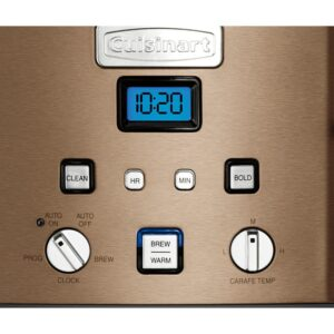 Cuisinart Coffee Center 12-Cup Copper Stainless Coffee Maker and Single-Serve Brewer