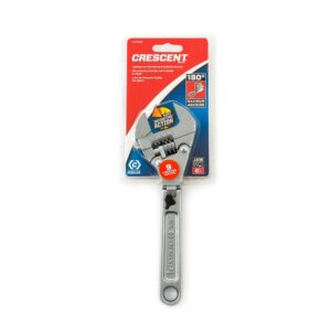 Crescent 8 in. Ratcheting Flex Adjustable Wrench