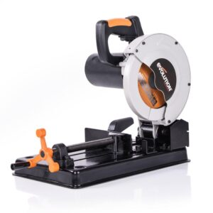 Evolution Power Tools 10 Amp 7-1/4 in. Chop Saw with Multi-Material 20-T Blade