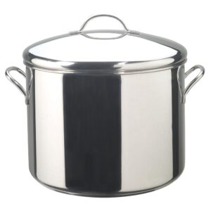 Farberware Classic Series 16 qt. Stainless Steel Stock Pot with Lid
