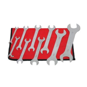 Grand Rapids Industrial Products Metric Super Thin Wrench Set (9-Piece)