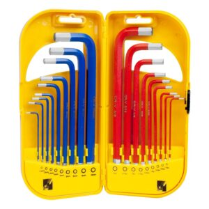 Freeman 18-Piece Metric and SAE Long Arm Hex Wrench Set