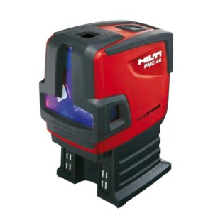 Hilti PMC 46 Combination Line and Point Laser Kit 98 ft. (Points), 33 ft. (Lines)