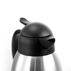 MegaChef 67.6 fl. oz. Stainless Steel Thermal Carafe with Black LID