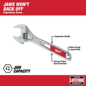 Milwaukee 8 in. Adjustable Wrench