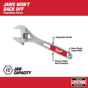 Milwaukee 12 in. Adjustable Wrench