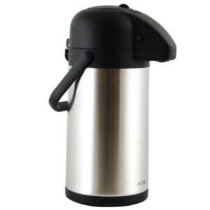 Mr. Coffee Javamax 2.24 Qt. Stainless Steel Vacuum Sealed Double Wall Pump Pot
