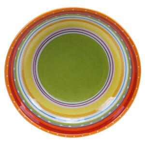 Certified International Mariachi Multi-Colored Large Serving Bowl