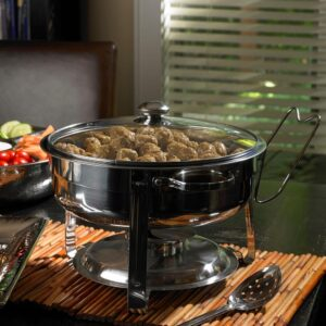 Oster Sangerfield 4.5 Qt. 6-Piece Stainless Steel Chafing Dish Set