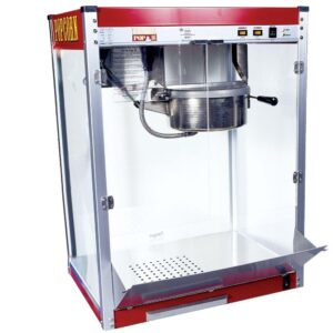 Paragon Theater Pop 16 oz. Red Stainless Steel Countertop Popcorn Machine