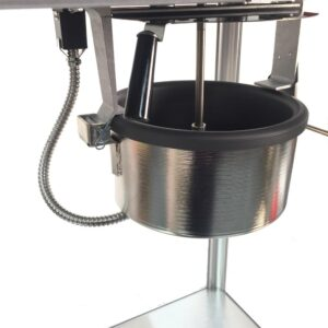Paragon Theater Pop 6 oz. Red Stainless Steel Countertop Popcorn Machine