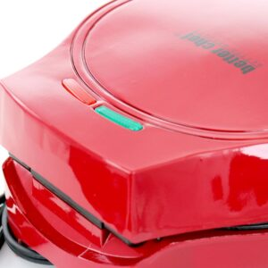 Better Chef 4-Egg Electric Double Red Omelet Maker