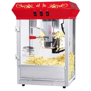 Great Northern All-Star 8 oz. Red Hot Oil Countertop Popcorn Machine