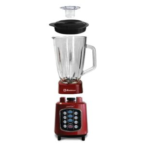 Koblenz Kitchen Magic Collection 50 oz. 10-Speed Red Easy Touch Blender