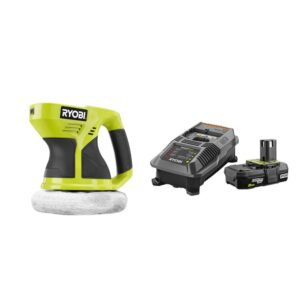 RYOBI 18-Volt ONE+ Cordless 6 in. Buffer with 2.0 Ah Battery and Charger Kit