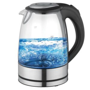 Better Chef 7-Cup Glass and Stainless Steel Cordless Electric Tea Kettle