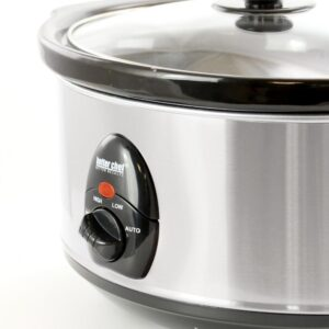 Better Chef 3.7 Qt. Silver Oval Slow Cooker