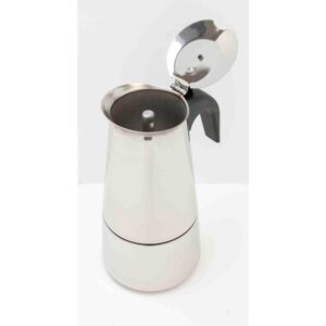 Home Basics 6-Cup Stainless Steel Stovetop Espresso Machine