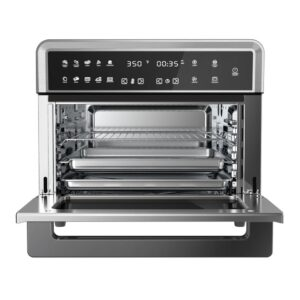 MegaChef 1800 W 10-in-1 Countertop Stainless Steel Multi-function Toaster Oven