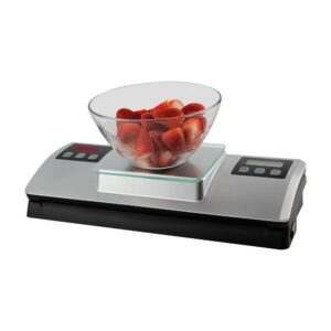 Nesco Silver Food Vacuum Sealer with Bag Cutter