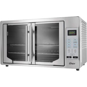 Oster Silver Countertop Digital French Door Convection Oven