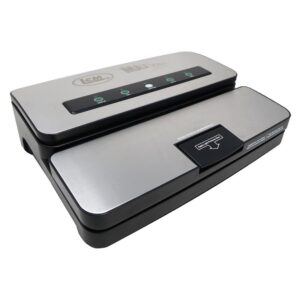 LEM Stainless Steel Vacuum Sealer with Bag Cutter and Holder